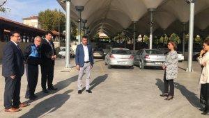 Başkan Köse, pazaryerinde incelemelerde bulundu