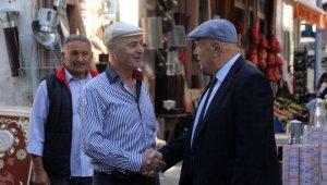 Başkan Pekmezci'den esnaf ziyareti