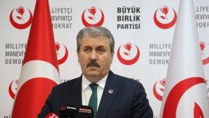 """BBP Genel Başkanı Destici: """"O artık bizim gözümüzde Kuzey Kıbrıs Türk Cumhuriyeti Cumhurbaşkanı değildir"""""""
