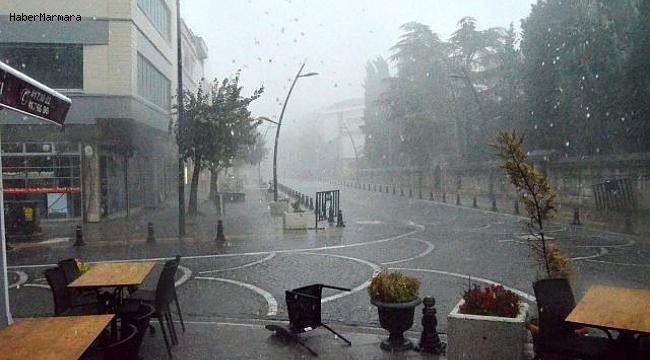 Beklenen Yağış  Başladı! İstanbul'a Çok Az Kaldı
