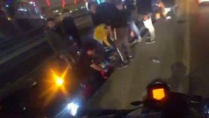 Beylikdüzü'nde iki aracın karıştığı kazada 3 kişi yaralandı