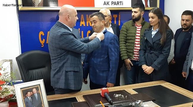 Çamaş'ta AK Parti'ye 750 yeni üye