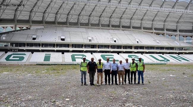 Çotanak Spor Kompleksinin yüzde 80'i tamamlandı