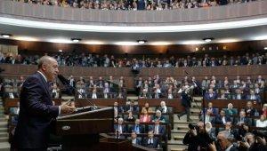 Cumhurbaşkanı Erdoğan, AK Parti'nin eski ve mevcut il başkanlarıyla bir araya geldi