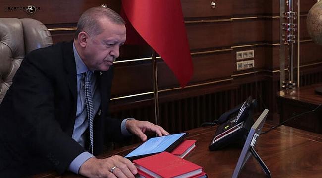 Cumhurbaşkanı Erdoğan Emri Verdi! İşte O Anlar