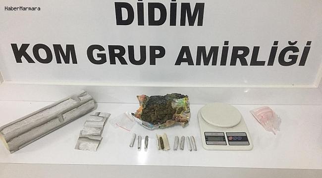 Didim polisinden uyuşturucu tacirlerine baskın