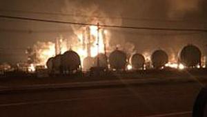 ABD'de Kimya Tesisinde Korkutan Patlama! Tahliye Ediliyor