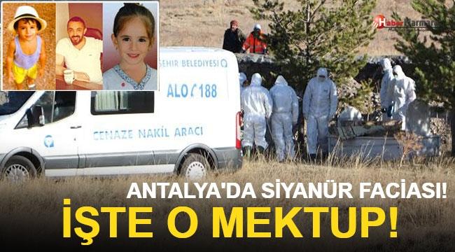 Antalya'da Siyanür Faciası! İşte O Mektup