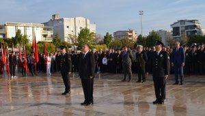Atatürk, ebediyete intikalinin 81. yılında Didim'de anıldı