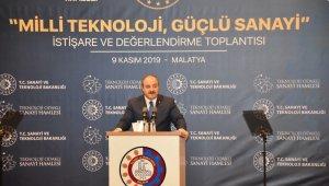 Bakan Varank, Malatya'da iş dünyası ile bir araya geldi