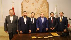 Bakan Varank, Nevşehir Belediyesini ziyaret etti