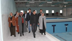 Başkale Belediyesinden yarı olimpik yüzme havuzu