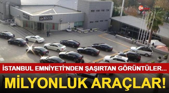 Burası Lüks Araç Galerisi Değil!  İstanbul Emniyet Müdürlüğü...
