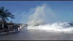 Büyükada'da 'Tsunami' Korkusu