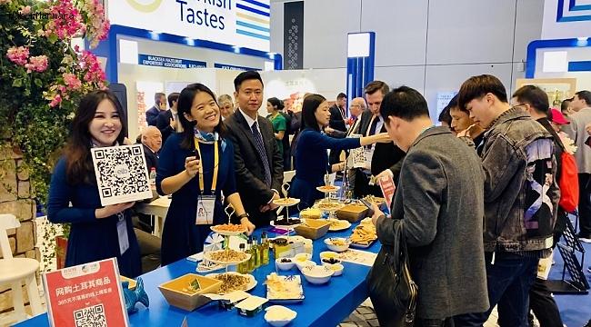 Çin'e gıda ihracatında hedef 1 milyar dolar