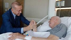 Cumhurbaşkanı Erdoğan'dan Eski Bakana Ziyaret