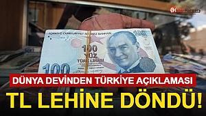 Dev Bankadan Türkiye Açıklaması! TL Lehine Döndü