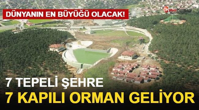 7 Tepeli Şehre 7 Kapılı Orman Geliyor