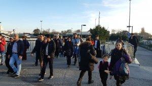 Aksaray- Yenikapı arasında metro raydan çıktı iddiası