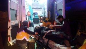Ankara'da trafik kazası: 1'i ağır, 2 yaralı