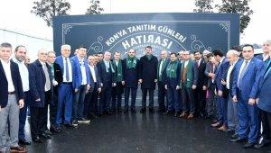 Bakan Kurum ve Başkan Altay İstanbul'daki Konyalılarla buluştu