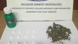 Balıkesir polisi 6 uyuşturucu tacirini yakaladı