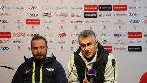 Balıkesirspor - Akhisarspor maçının ardından