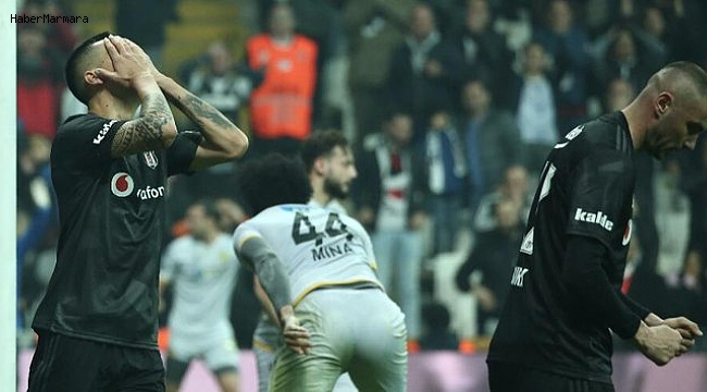 Beşiktaş 0 - 2 Yeni Malatyaspor