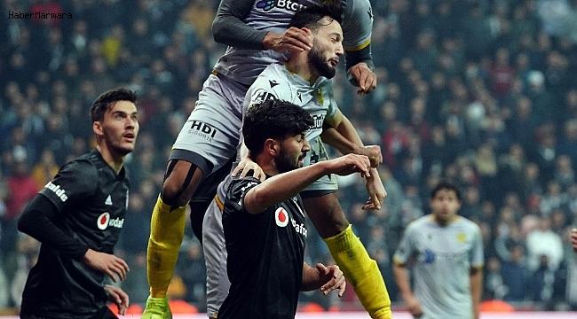 Beşiktaş'ta 8 maçlık seri sona erdi