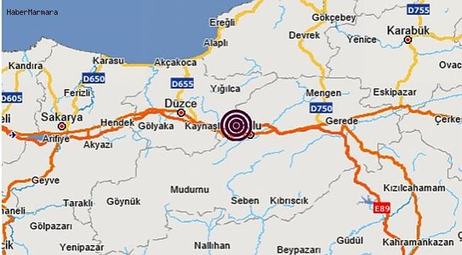 Bolu'da Peş Peşe Deprem Oldu! Vatandaş Sokağa Döküldü