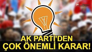 AK Parti'den Çok Önemli Karar! Herkesi Bağlayacak