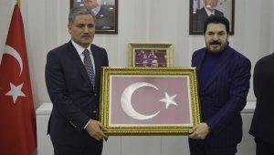 AK Parti Malatya Milletvekili Ahmet Çakır Ağrı Belediyesini ziyaret etti