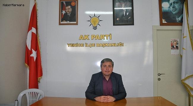 AK Parti Yenice İlçe Başkanı Kırık görevinden istifa etti