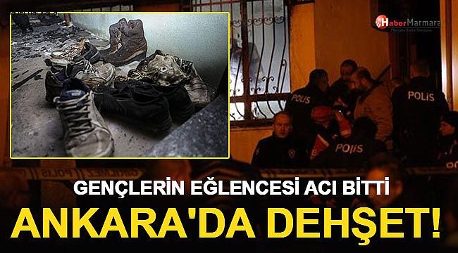 Ankara'daki Yangın Faciasında yürek Yakan Detay!