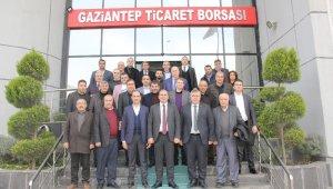 Antep fıstığı sektör temsilcileri GTB'de buluştu