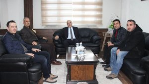 Arif Akcan'dan Başkan Pekmezci'ye ziyaret