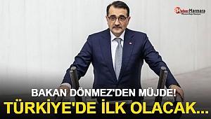 Bakan Dönmez Müjdeyi Verdi! Türkiye'de İlk Olacak...