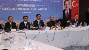 """Bakan Kurum: """"Amacımız Diyarbakır'ı çok daha iyi seviyelere çekmektir"""""""