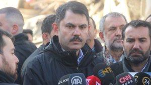 """Bakan Kurum: """"TOKİ bin 400 konutun yapılması için proje çalışmalarına başladı"""""""