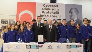 Beşiktaş'ta çevresel dönüşüm protokolü imzalandı