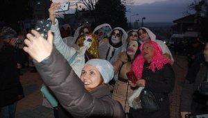 Çamlıca Köyü Bocuk Gecesi ile renkli görüntülere ev sahipliği yaptı