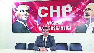 CHP Avcılar İlçe Örgütünde yönetim kadrosu belli oldu