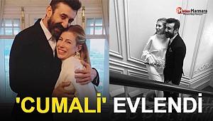 Çukur'un Cumali'si Necip Memilli ile Didem Dayıcıoğlu Dünyaevine Girdi