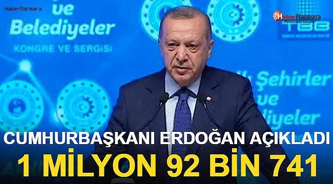 Cumhurbaşkanı Erdoğan Ankara'da 'Akıllı Şehirler Kongresi'nde Konuştu