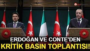 Cumhurbaşkanı Erdoğan-Conte Görüşmesi Sonrası Ortak Açıklama