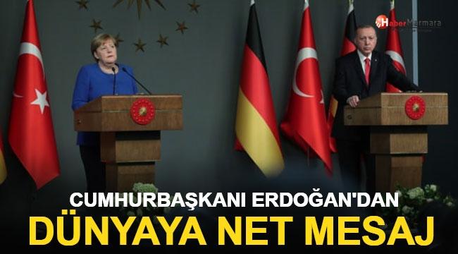 Cumhurbaşkanı Erdoğan'dan Dünyaya Net Mesaj