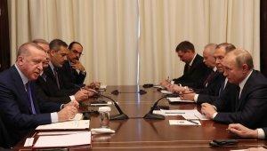 """Cumhurbaşkanı Erdoğan: """"Libya'nın barış ve huzura kavuşabilmesi için ateşkesin kabulü temin edilmelidir"""""""