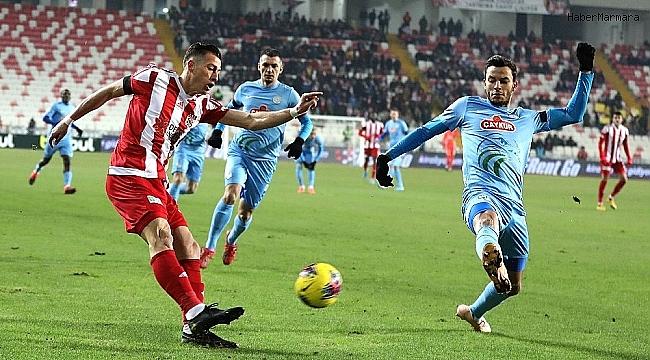 D.G. Sivasspor 1 - 1 Çaykur Rizespor