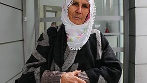 Dul aylığını düşüren yaşlı kadın vatandaşlara seslendi