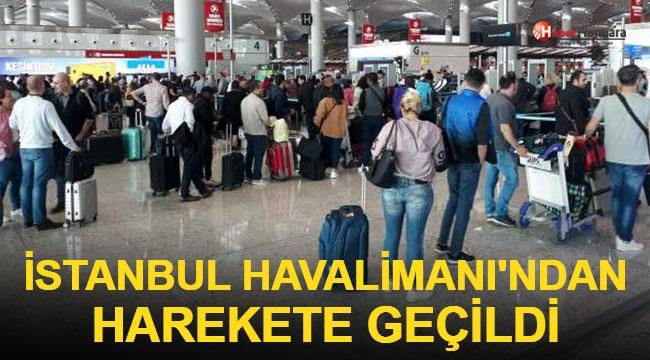 Dünya Ayağa Kalkmıştı! İstanbul Havalimanı'ndan Harekete Geçildi